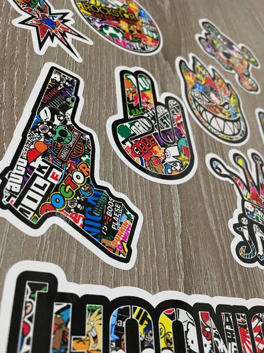 Стикери Sticker Бомб BOMB 13 бр. СУПЕР качествени PVC фолио стике гр. Стара Загора - image 4