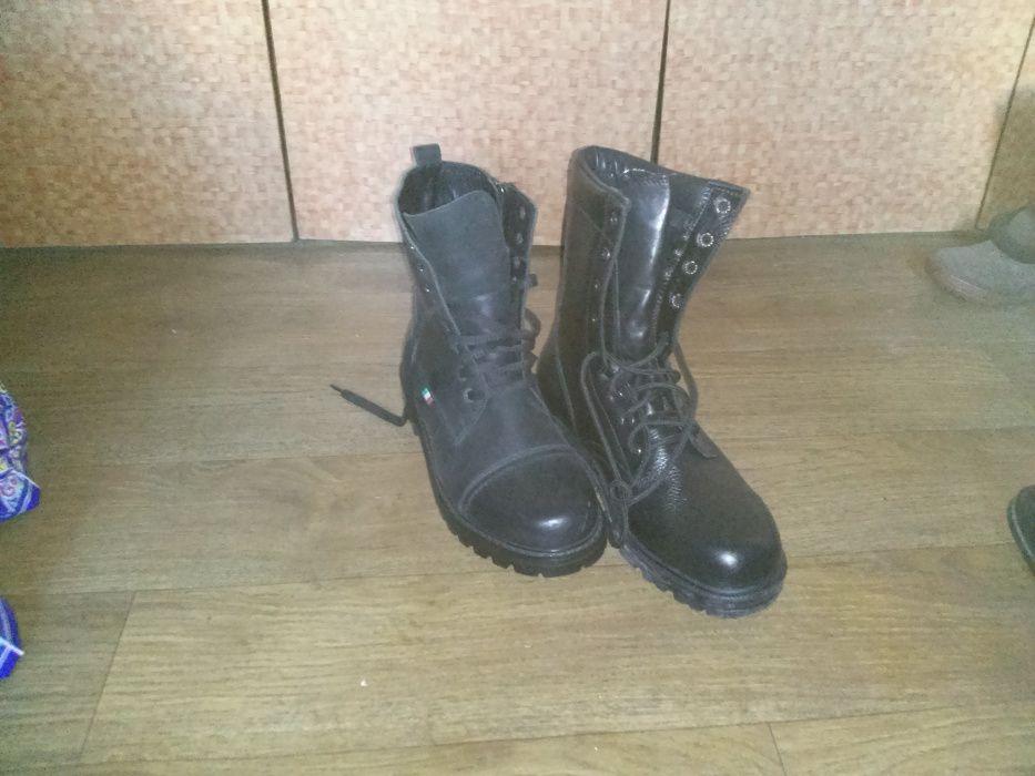 ботинки зимние высокие