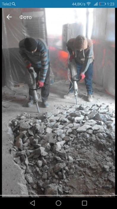 Копка ям траншей канализаций септиков погребов демонтаж зданий