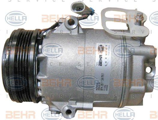 Compresor aer conditionat OPEL Astra G/H/Corsa C/Meriva/Tigra, HELLA