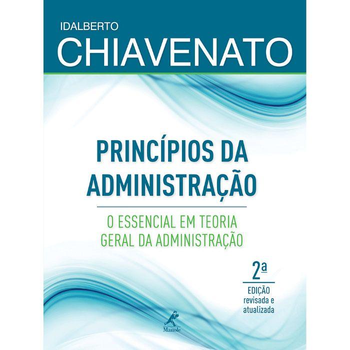 Chiavenato - Principios de Administração