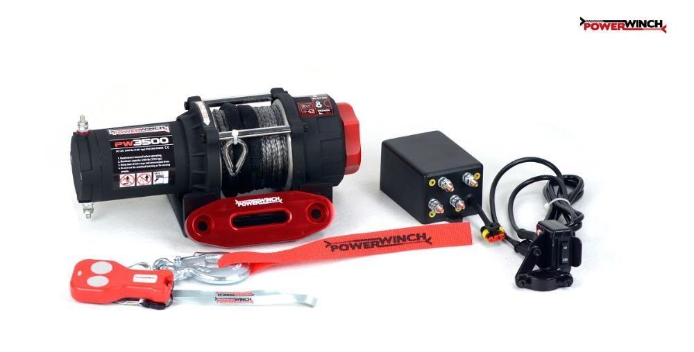 Troliu pentru ATV si UTV PW 3500 SR cu plasma PowerWinch-NOU