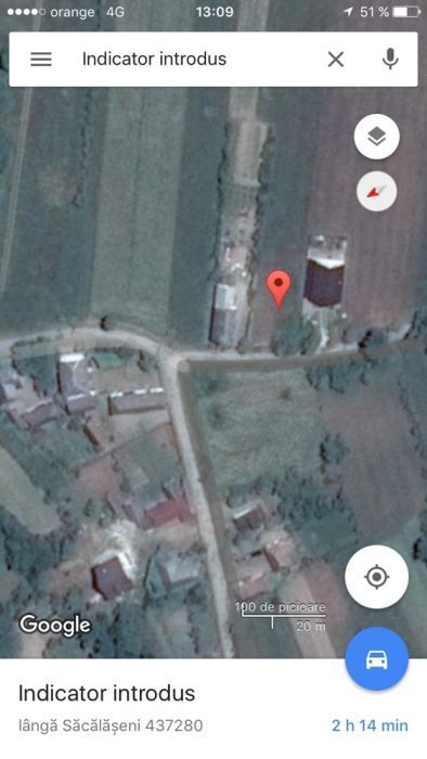Vanzare  terenuri constructii  2400 mp Maramures, Sacalaseni  - 1450 EURO
