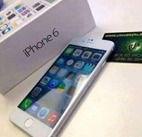 Iphone 6 disponivel