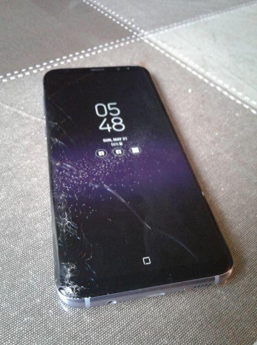 Schimbare Inlocuire Reparatie Fata Geam Sticla Samsung S8 / S8 PLUS