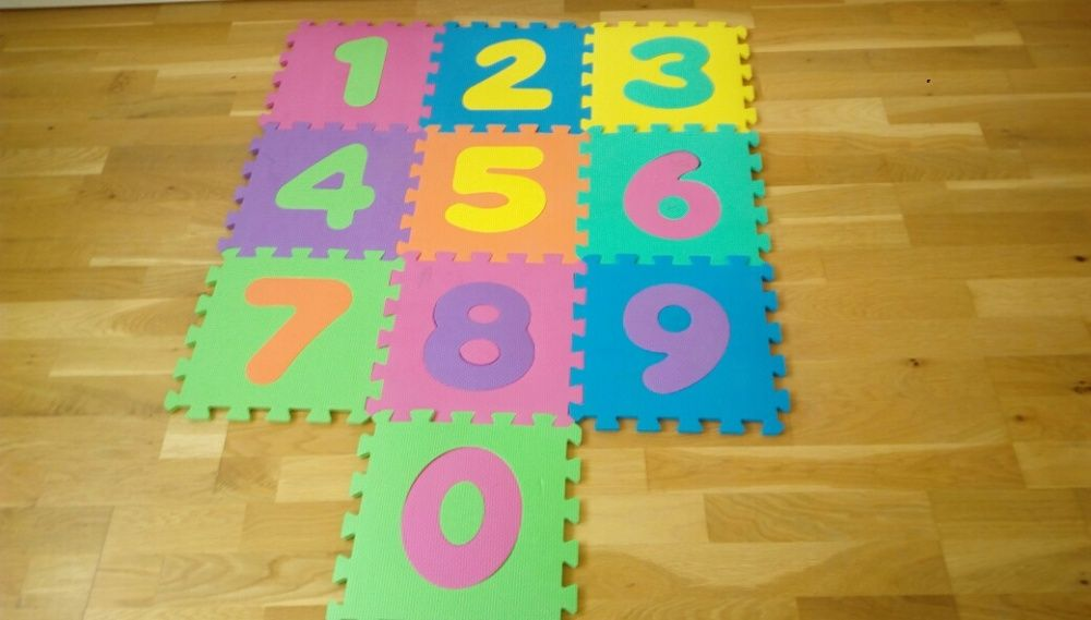 Joc / covor cu cifre