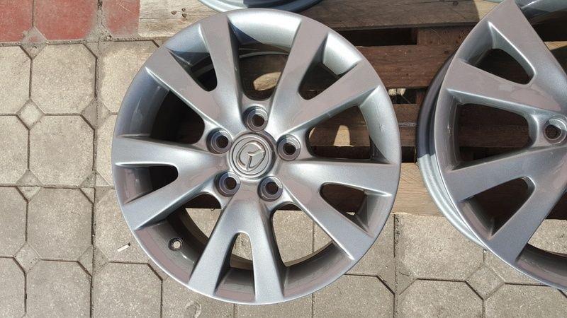 Jante Mazda 3 6.5x16 et 52.5 5x114,3 Oradea - imagine 5