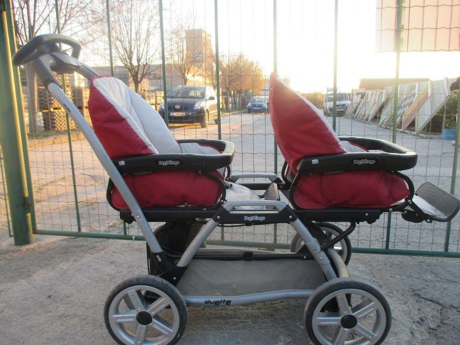 Детска количка за близнаци