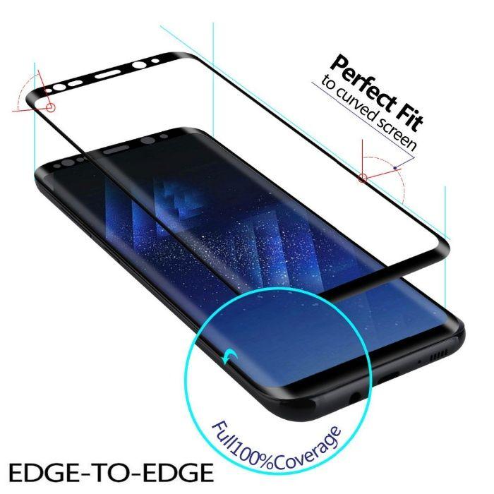 Folie sticla securizata 6D Samsung S8. S8Plus, S9. S9Plus,