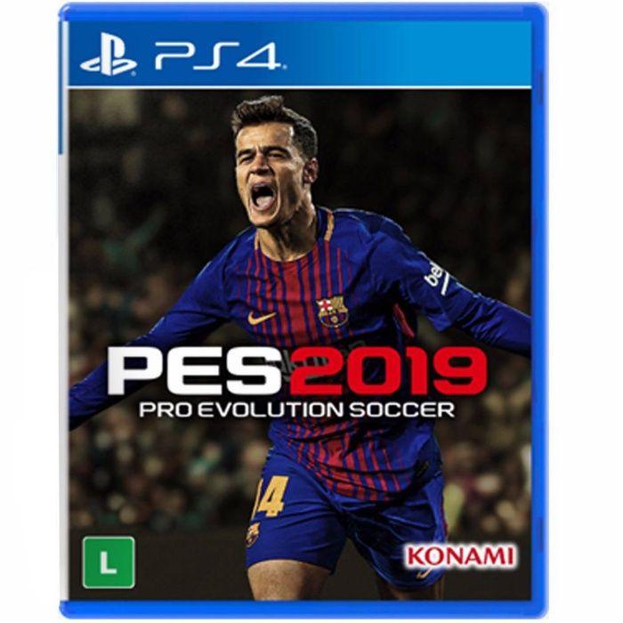 PES 2019 (em Português Brasil) - PS4 (jogo selado)