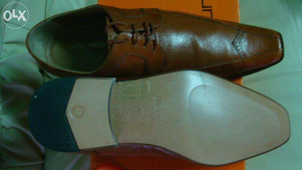 Pantofi piele naturala vitel, italia 41/42