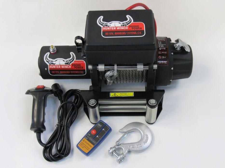 Лебедка Hunter Winch P6000 POWER 12V 6000lbs. гр. Бургас - image 1