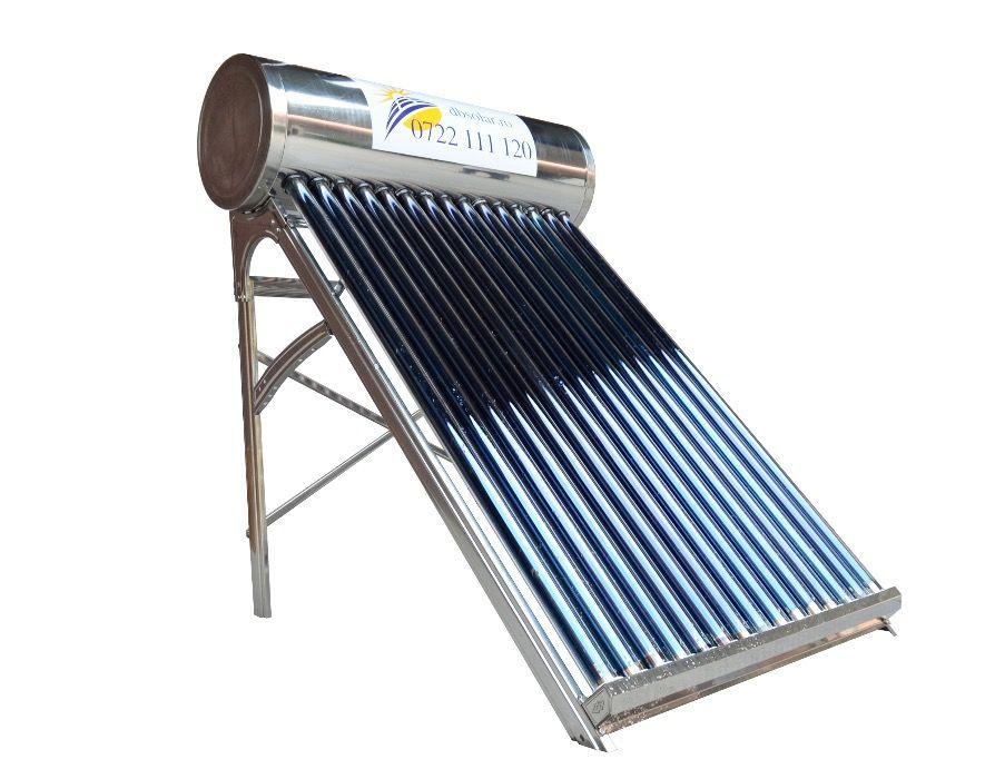 PANOU solar apa calda INOX 150L 180L REZERVOR nepresurizat Controler‼️ Targoviste - imagine 6