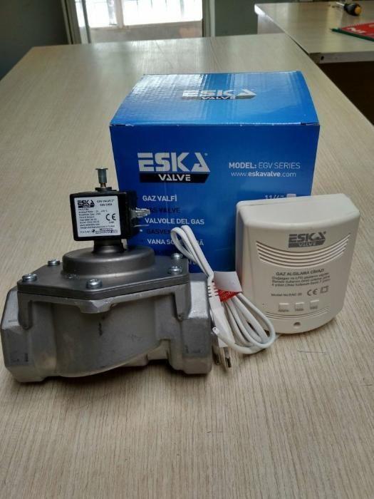 Электромагнитные клапана ESKA 15, 20, 25, 32, 40, 50, 100