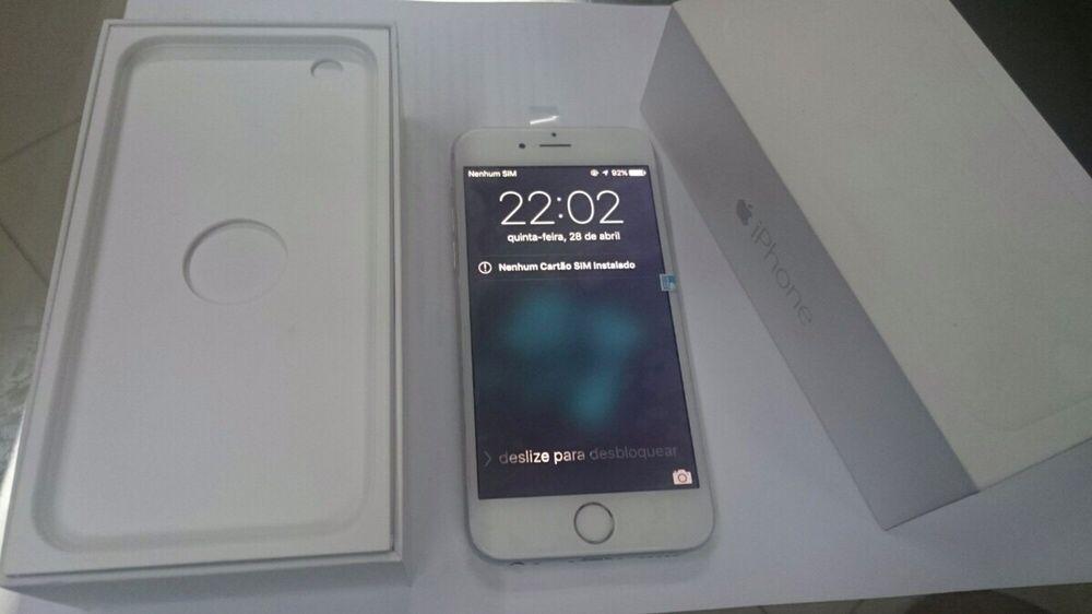iPhone 6 16GB na caixa selado com todos acessórios