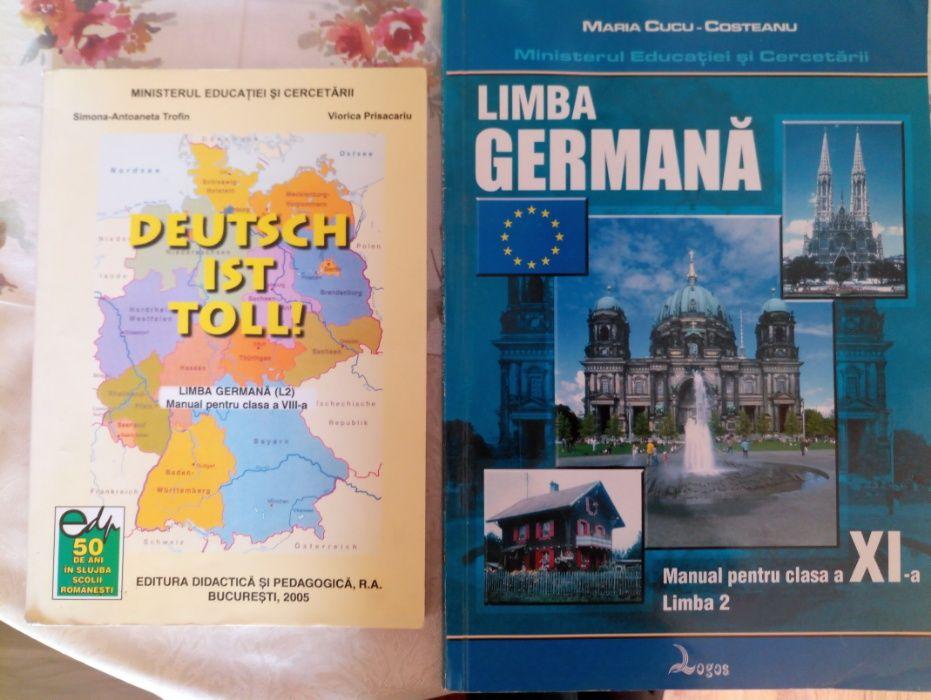 Vand manuale Germana clasa a VIII-a si a IX-a limba 2