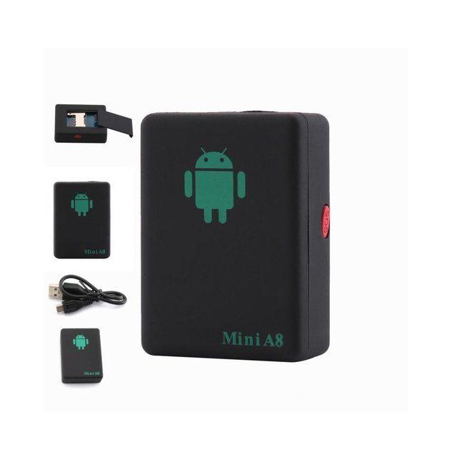 Microfon spion, GPS, GSM, supraveghere Vocala si Call-Back Mini A8
