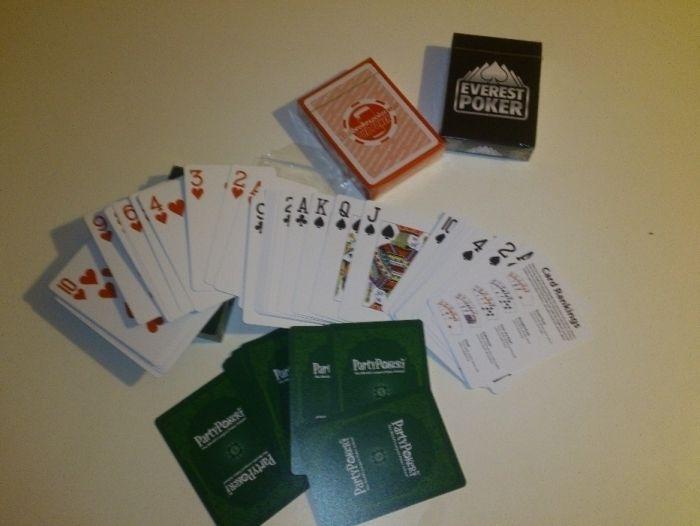 Промоция - карти за игра 100% пластик