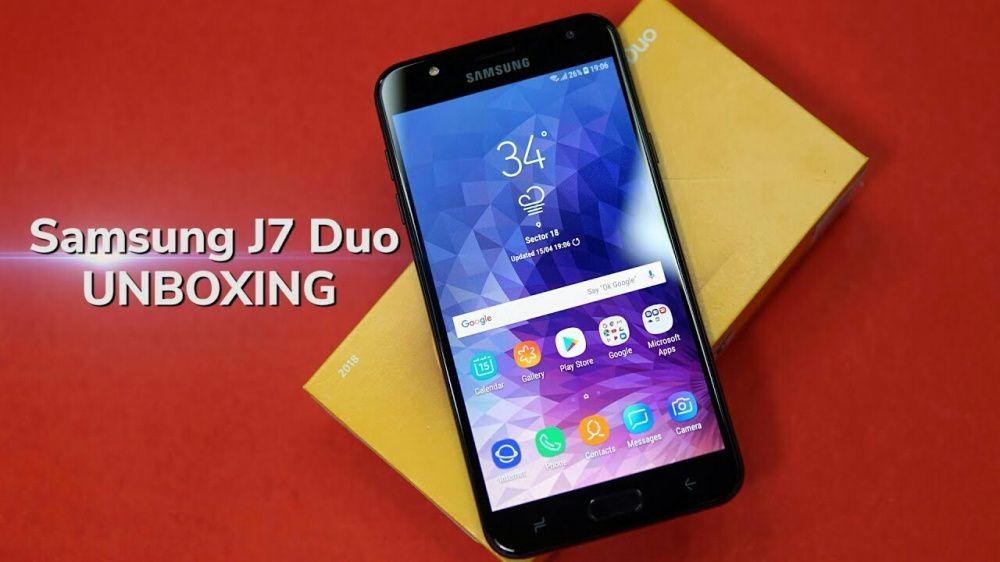 Samsung Galaxy J7 Duo 2018/novos na caixa.