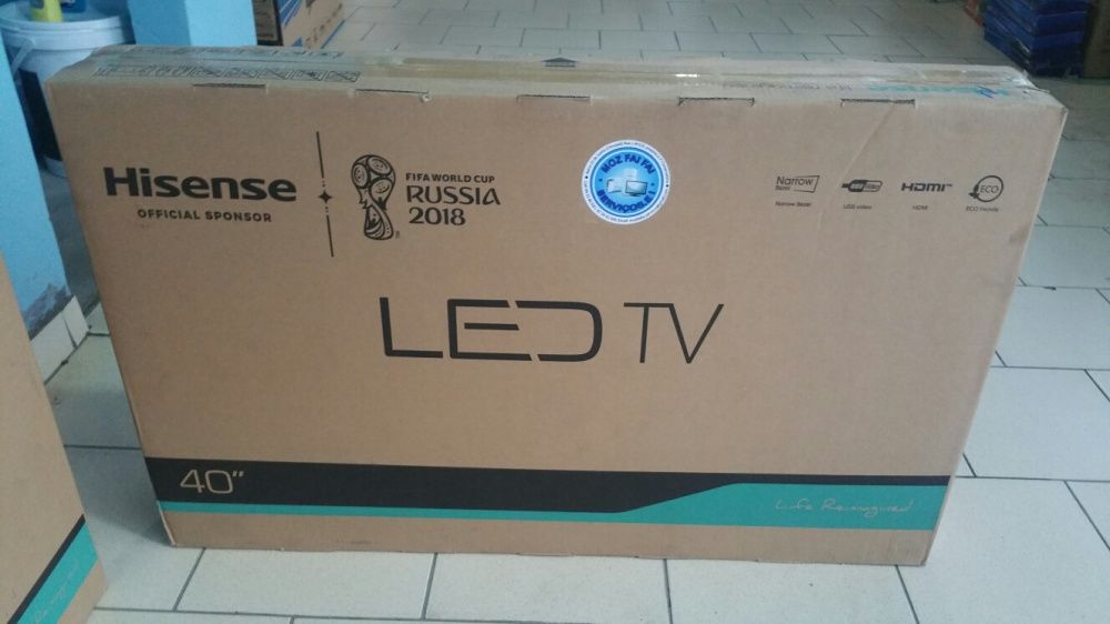 Mega super promoção de tvs hisense LED FULL HD 40 polegadas novinhas