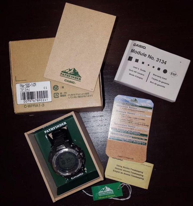 Casio Pathfinder PAW-1500-1VCR (echivalent cu Protrek PRW-1500-1VER)