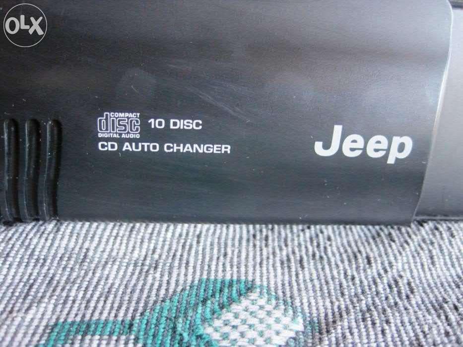 Продам CD ченеджер Jeep на 10 дисков