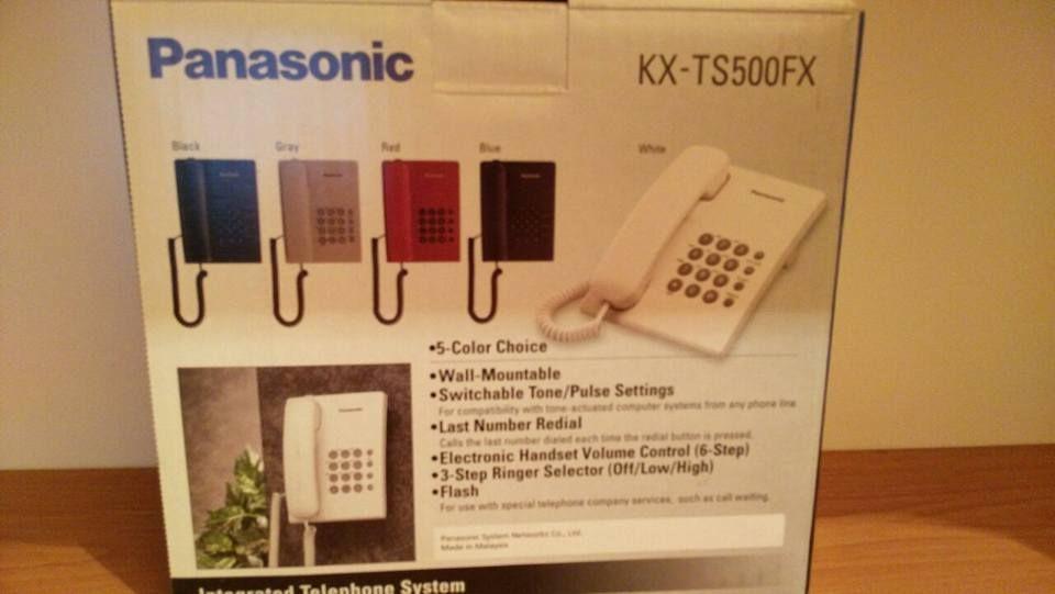 Телефон Panasonic KX-TS500FX Чисто нов, неразопакован гр. Шумен - image 1