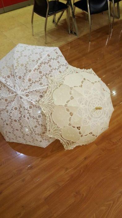 Свадебный зонт для фотосессии