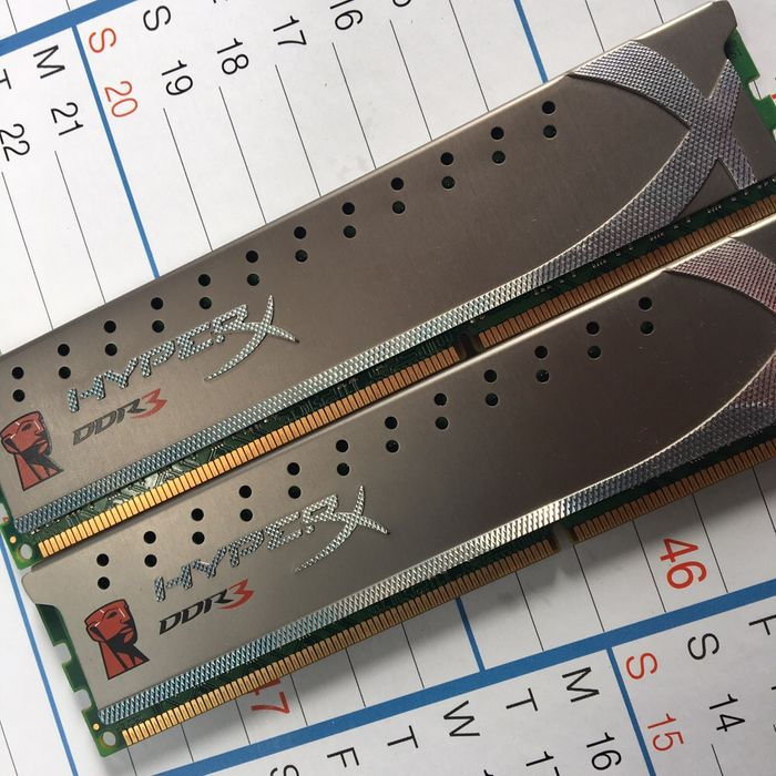 RAMS Hyperyx DDR3 8Gb (2x4Gb) 1600mhz Malhangalene - imagem 2