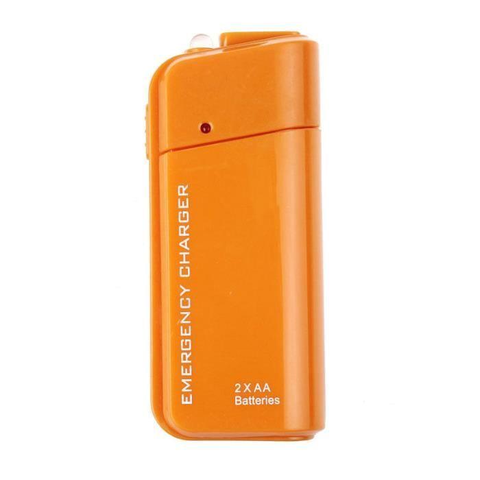 Incarcator mobil USB 2xAA