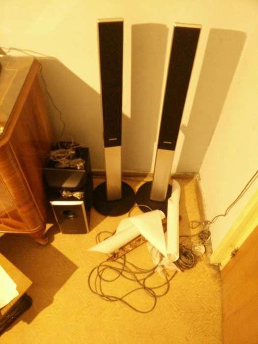 Sistem Home cinema samsung 500w cu usb. HT-THQ22 5.1
