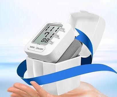 Medidor de pressão arterial digital de pulso