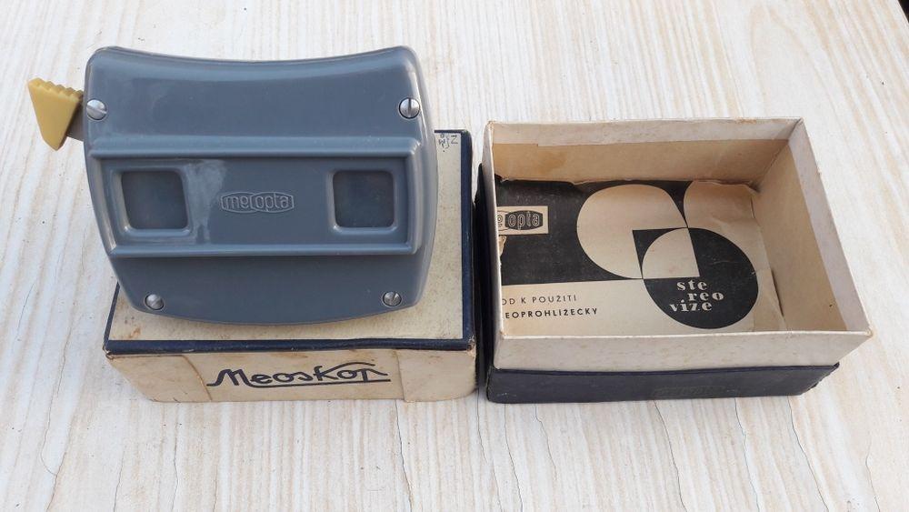 Meopta Meoskop (diapozitiv) De colectie anii 70 In cutie Impecabil