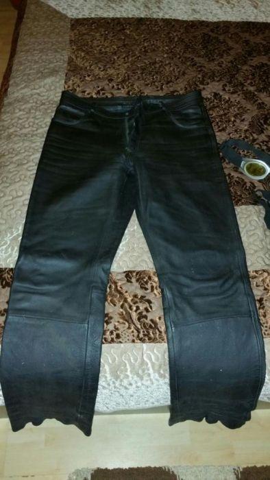 Pantaloni Hyghway moto piele f groasa