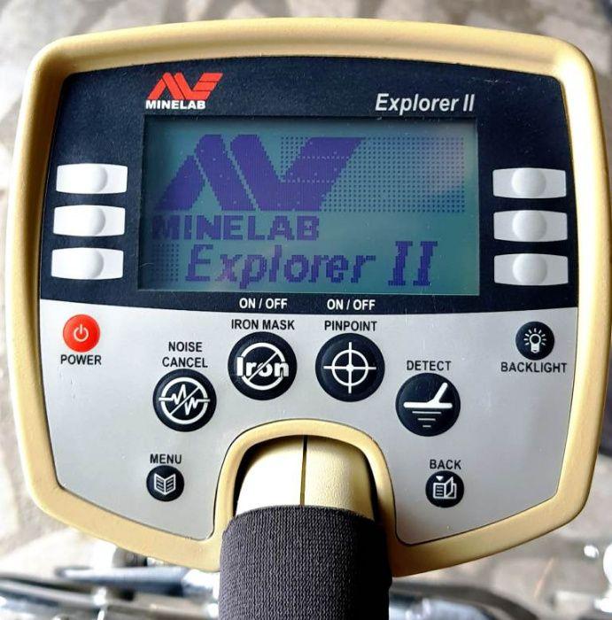 Продавам металотърсач MINELAB Explorer II