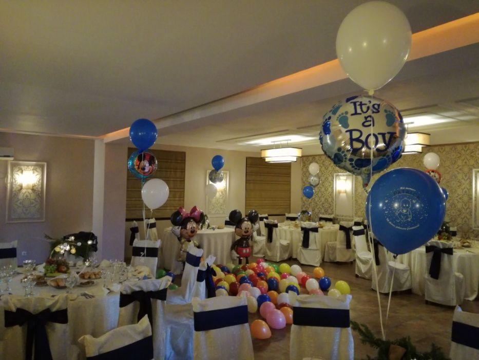 Decoratiuni baloane botez