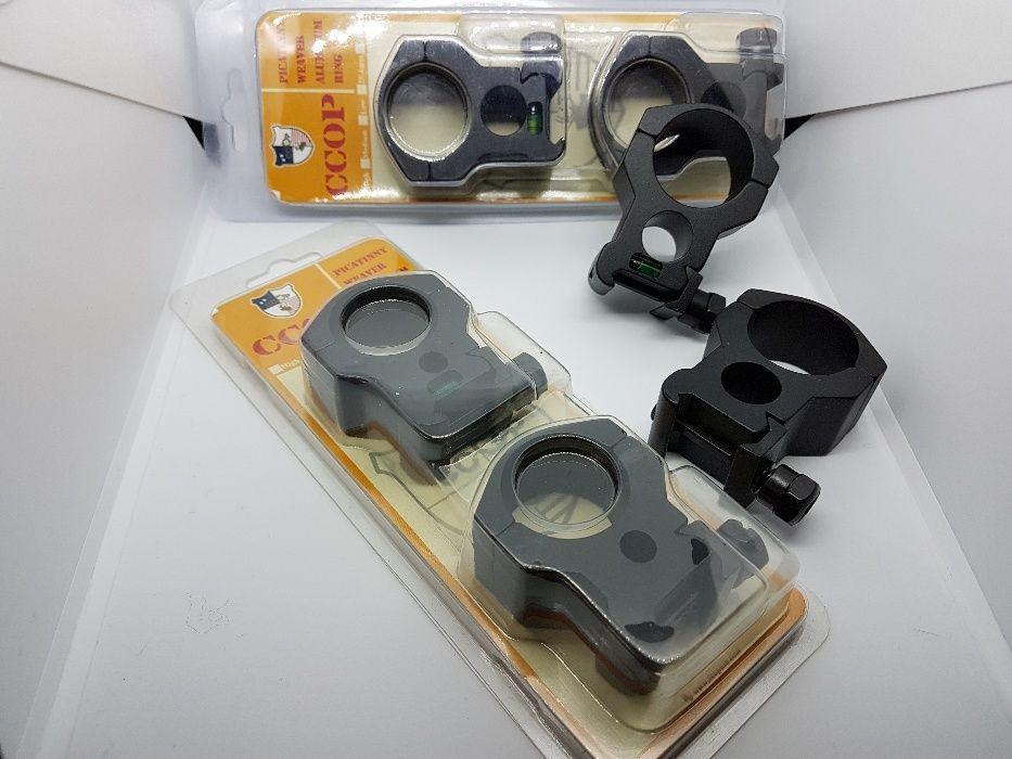 inele 30mm luneta arma vanatoare model cu nivela - CCOP USA picatinny