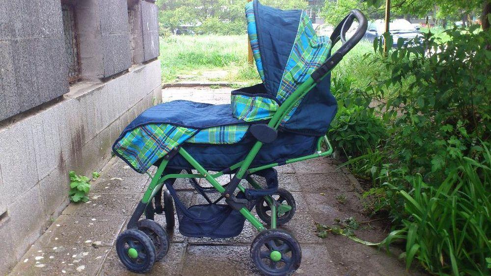 ПРОМОЦИЯ Комбинирана МАРКОВА запазена бебешка количка