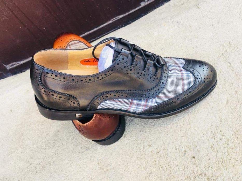 Sapatos axadrezado