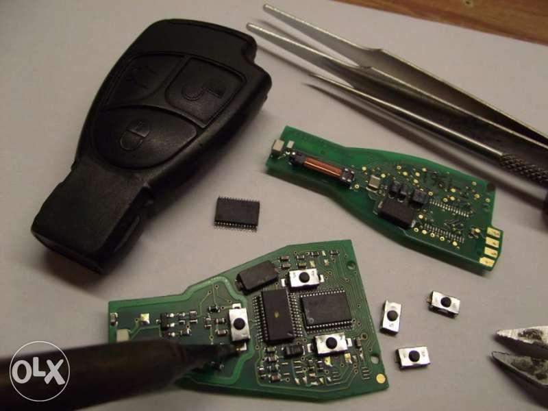 Ремонт на ключ тип Рибка за всички модели Mercedes-Benz. гр. Хасково - image 2