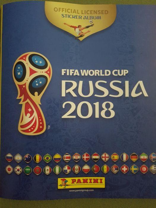 Stickere ( abtibilduri) FIFA World Cup Russia 2018