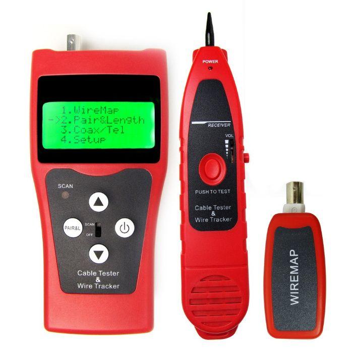 Мултифункционален кабелен тестер за 5Е, 6Е