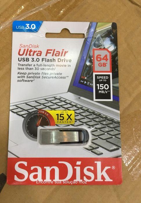Flash sandisk 64gb