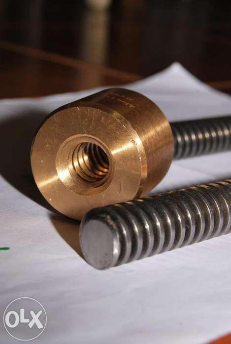 Piulita pas trapezoidal 16 x 4 mm din bronz Conti Italia