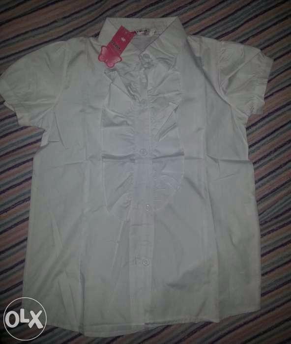 Новая школьная блузка