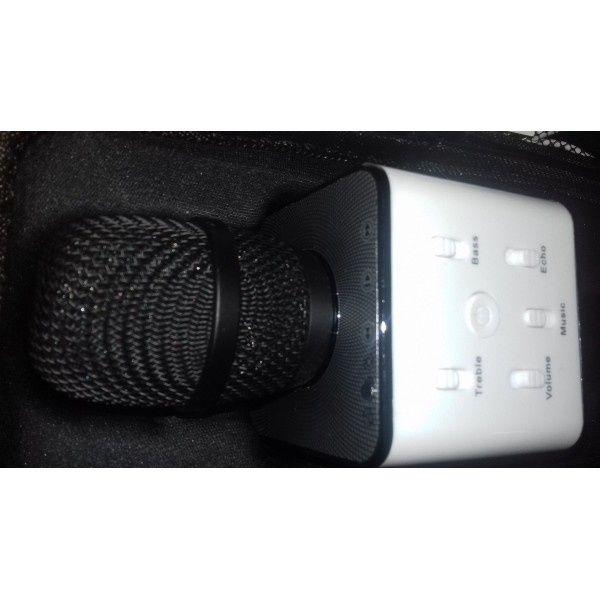 Microfon wireless sistem karaoke profesional cu boxe si bluetooth