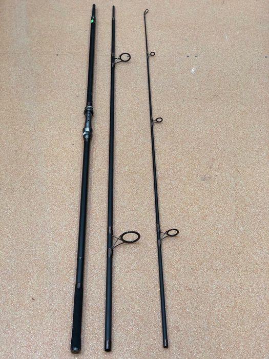 Set 4 lansete pescuit Crap 3,90 m