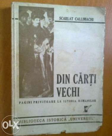 Din carti vechi - Scarlat Callimachi (cu autograf)