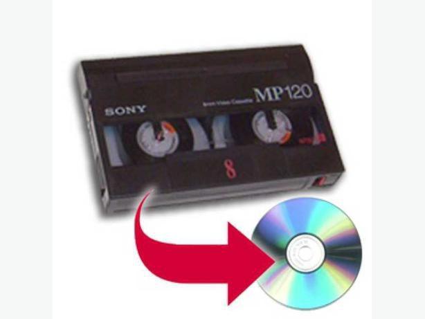 Casete video HI8 pe DVD
