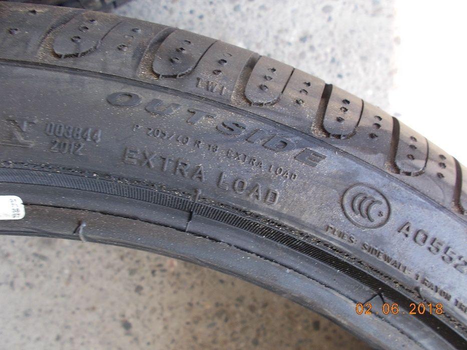 4 anvelope NOI vara 205 40 18 pirelli runflat dot 2018 Bacau - imagine 6